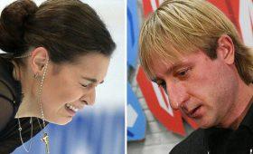«Похудела на10кг»: чтоПлющенко сделал сСотниковой