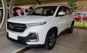 Wuling Almaz: ещё один брат Chevrolet Captiva нового поколения
