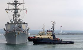 Порошенко одобрил расширение морских территорий