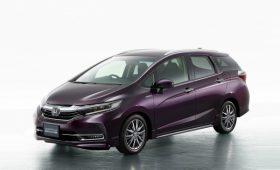 Обновлённый универсал на базе Honda Jazz: прежние установки, зато кожа и подстаканники