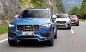 Volvo снизит максимальную скорость своих автомобилей