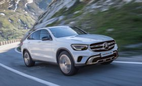 Рестайлинг Mercedes-Benz GLC Coupe 2020