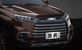 Новый рамный пикап из Китая: на основе прежнего флагмана с начинкой Ford