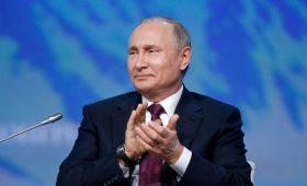 Путин пошутил над не сумевшим ответить на вопрос Орешкиным