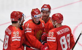 Сборная России одержала вторую подряд победу наЧМ, обыграв австрийцев