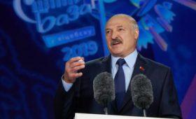 Александр Лукашенко открыл XXVIII Международный фестиваль искусств «Славянский базар в Витебске»