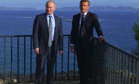 Путин и Макрон обсуждали вопрос украинцев