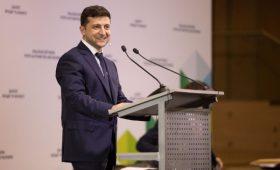 Зеленский передал все права на бизнес