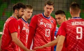 Сборная России обыграла Белоруссию наЧЕповолейболу