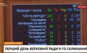 Украинская Рада лишила народных депутатов неприкосновенности