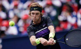 Российский теннисист Рублев уступил Тсонга вматче первого круга турнира вПариже