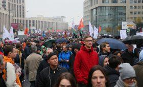 Акция протеста в Москве -мнение Кремля