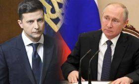 Зеленский дал Путину год для завершения конфликта на Донбассе