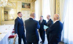 Ермак в Париже говорил о визите Макрона в Украину