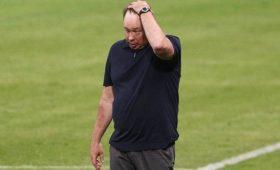 Тренер «Рубина» Слуцкий назвал штрафы заотсутствие масок рейдерским захватом денег