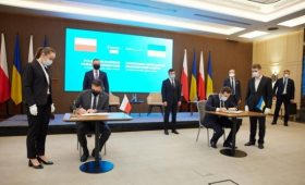 Украина и Польша подписали «морской» меморандум