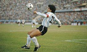 Умер легенда мирового футбола — Диего Марадона