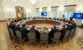 На заседании СНБО приняли решение о новых санкциях