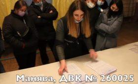 Возможные фальсификации на довыборах в Раду зафиксировали на видео