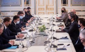 Зеленский и Блинкен обсудили СП-2, Донбасс и Крым