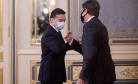 В Киеве началась встреча Зеленского с Блинкеном