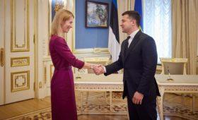 Эстония поддержала европерспективы Украины