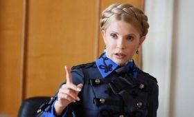 Тимошенко назвала «низкопробным шоу» голосование за закон об олигархах